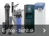 E-shop - zariadenia na úpravu vody
