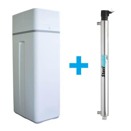 Zmäkčovač vody a UV lampa 55 watt